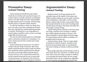 Persuasive Essay-Writing Prompts High School