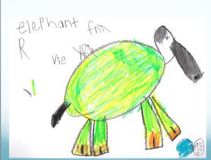 kindergarten response 1