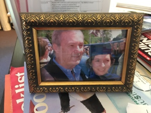 dad and me at graduation