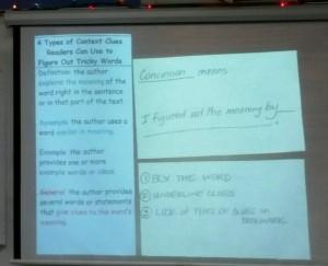 Context clue lesson 4th grade 2