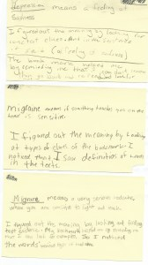 Context Clues lesson 4th grade reflections
