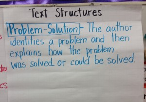 problem solution text structure
